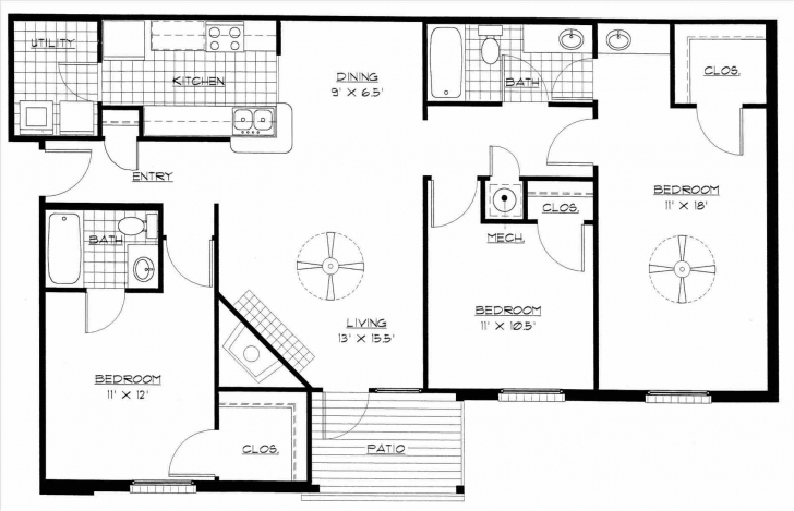 Image of Bedroom Flat Plan Drawing Flat House Plan In Nigeria Unique 3 Bedroom Flat Plan On Half Plot In Nigeria Pic