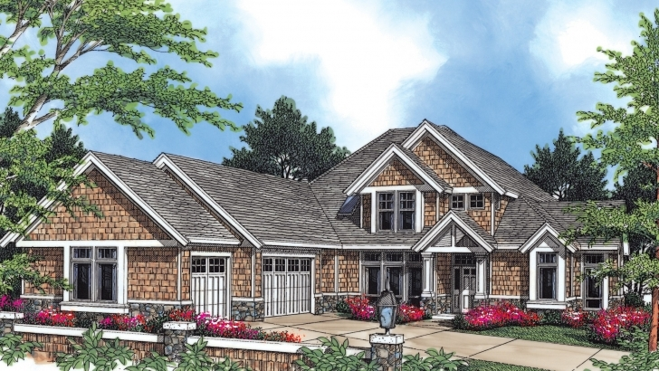Image of Craftsman House Plan 2345 The Eastbourne: 3540 Sqft, 3 Bedrooms, 2.1 2345 House Plan Photo