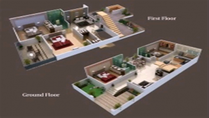 Image of Floor Plans 25 X 50 - Youtube 25 By 50 House Designs Photo