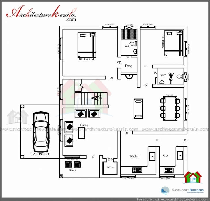 Image of House Plans Below 1000 Square Feet In Kerala Lovely 1000 Sq Feet 350 Sq Ft House Design Image