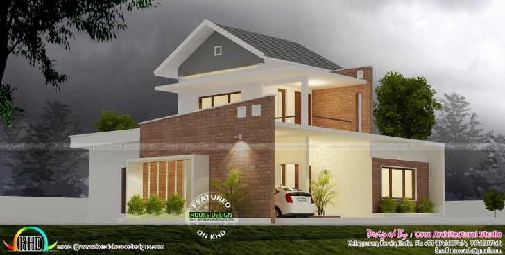 Image of January 2017 - Kerala Home Design And Floor Plans Kerala House Exterior Design 2017 Pic