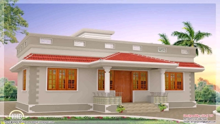 Image of Kerala Style House Plans Within 1000 Sq Ft - Youtube Kerala Model House Plans 700 Sq Ft Picture