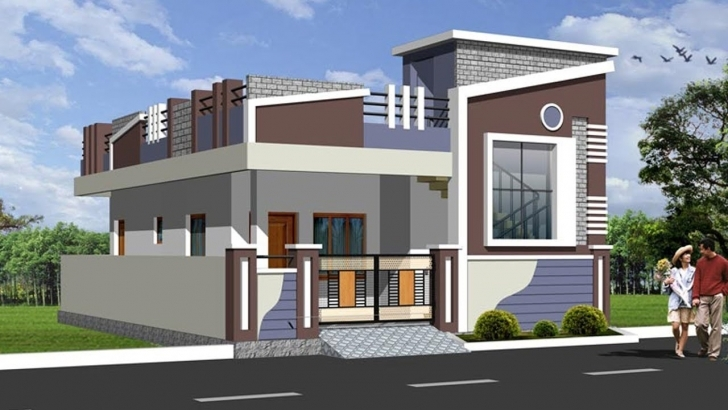 Image of Latest Top Single Floor Home Elevations | Small House Plans | Floor Single Floor House Elevations Photos Download Photo