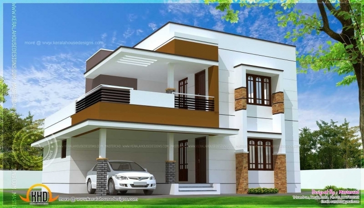 Image of Modern Luxury House With Collection And Outstanding Simple Design Outstanding Simple House Picture