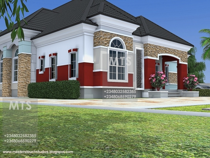 Image of Mr Chukwudi 5 Bedroom Bungalow Latest Bungalow Designs In Nigeria Picture