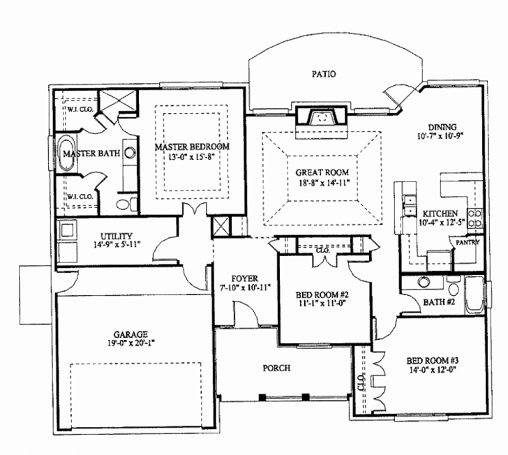 Image of Three Bedroom House Plans Philippines Awesome 3 Bedroom Bungalow 3 Bedroom House Plans In Nigeria Image