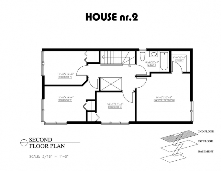 Incredible 16 Lovely 2 Bedroom House Plans Open Floor Plan | House Plan Two Bedroom Plan House Image