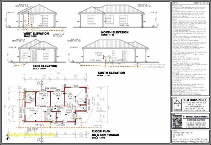Incredible 3 Bedroom 2 Bathroom House Plans South Africa | House For Rent Near Me 3 Bedroom House Plans In Sa Picture