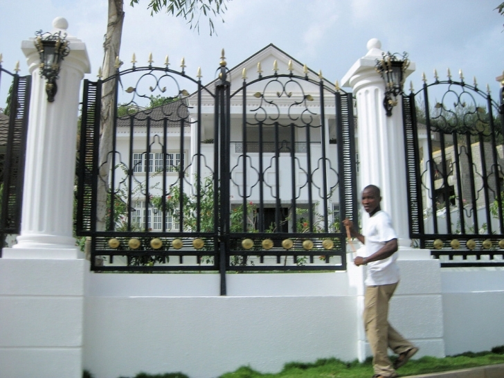 Incredible Best Fence Design In Nigeria Nigeria House Fence Design Image