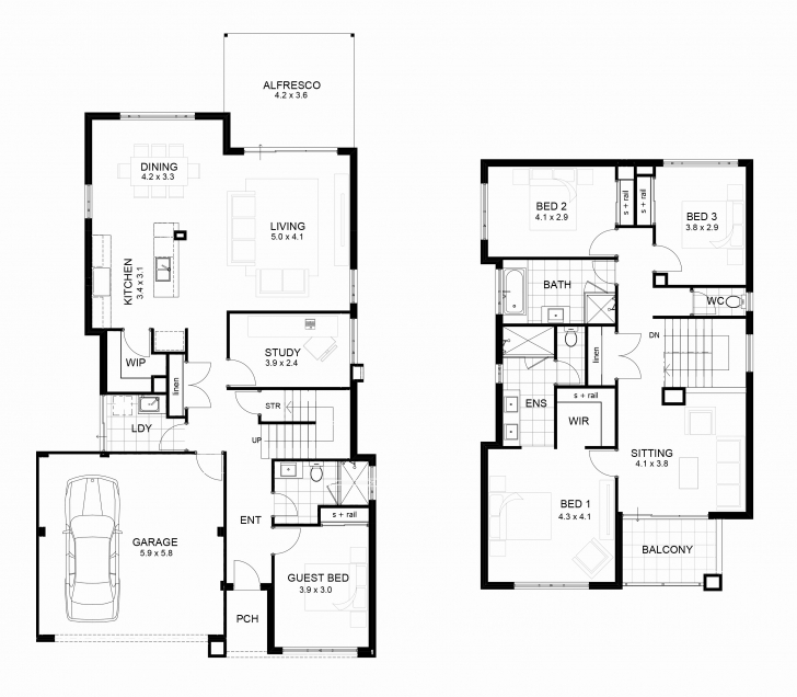 Incredible House Design Plans Philippines Two Story Inspirational House Plan Two Storey House Plans With Balcony Image