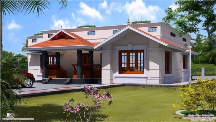 Incredible House Plans Kerala Style 1200 Sq Ft - Youtube 1200 Sq Ft House Plans In Kerala With Photos Image