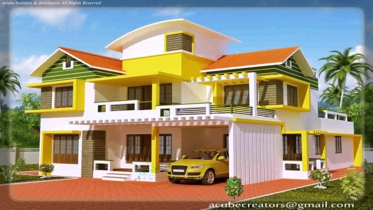 Incredible Kerala Style New Model House - Youtube New Model House Images Image