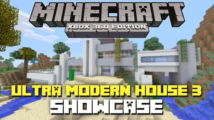 Incredible Minecraft Xbox 360: Ultra Modern House 3 Showcase! + Download! - Youtube Ultra Modern House Minecraft Image