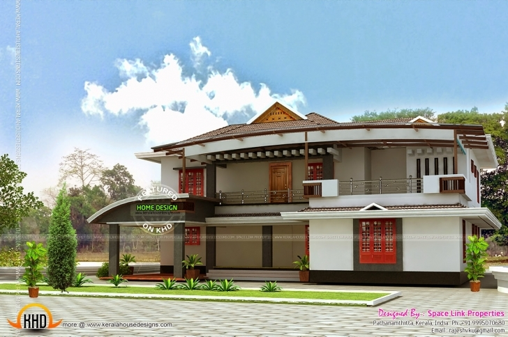 Incredible Siddu Buzz Elevation Side Front Kerala Home Design - Building Plans Kerala House Design Front View Picture