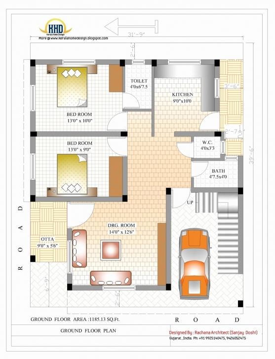 Inspirational 1200 Sq Ft House Plans 2 Bedroom Indian Style Inspirational 2 2 Bedroom House Plans Indian Style 1200 Sq Feet Image
