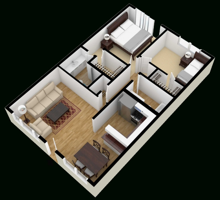 Inspirational 800 Sq Ft House Plans 3 Bedroom In 3D Pictures Stunning Also Square 800 Sq Ft House Plans 3 Bedroom 3d Picture
