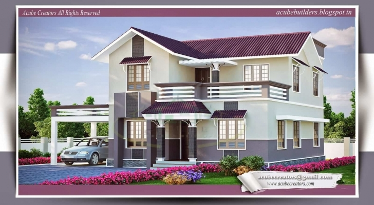 Inspirational Beautiful Kerala Home Plans At 2015 Sq.ft Nice House Designs In Kerala Image