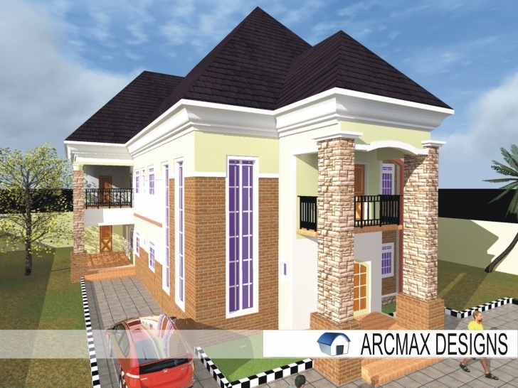 Inspirational Beautiful White Duplex (Designs) - Building Designs And Construction Beautiful Building Plans In Nigeria Pic