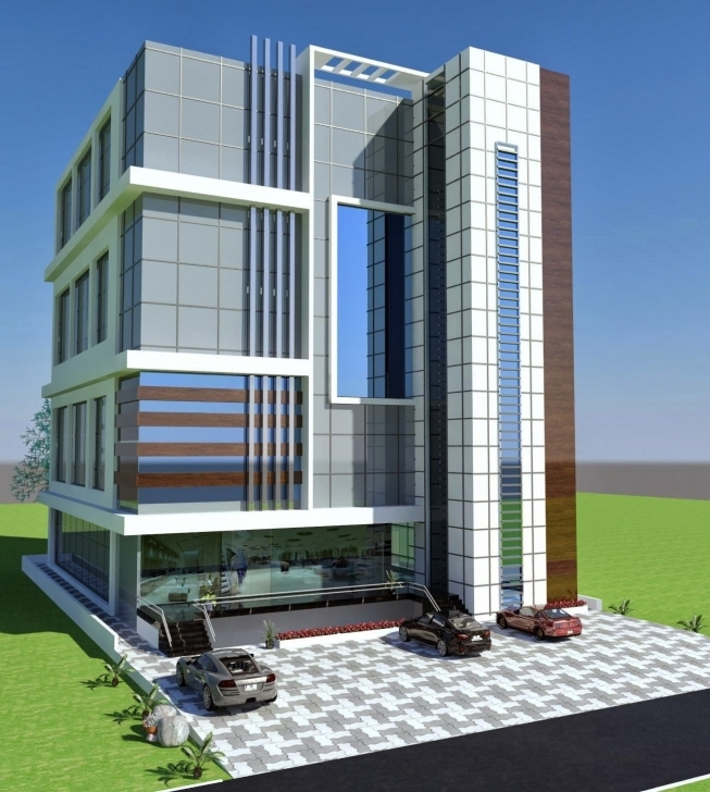 Inspirational Commercial Plaza Plan 3D Front Elevation In Porposal In Poiner Commercial Elevations Of Buildings Pic