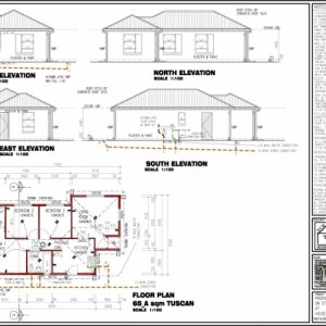 South African House Plans 3 Bedroom
