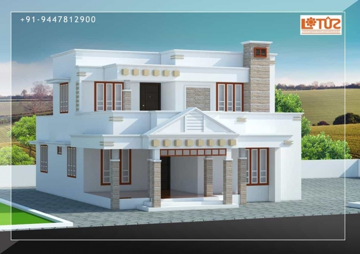 Inspirational Kerala Home Designs | House Plans & Elevations | Indian Style Models Kerala House Design Image