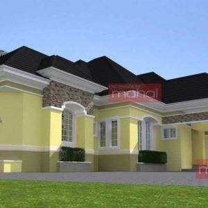 New Bungalow House In Nigeria