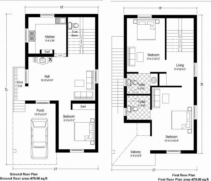 Inspirational South Facing Home Plans Inspiring 20 X 60 House Plan Design India 20 X 60 House Plans South Facing Photo