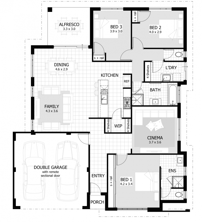 Inspiring 3 Bedrooms House Plans Designs Rooms House Plans With Design Gallery 3 Bedroom House Plans With Photos Picture
