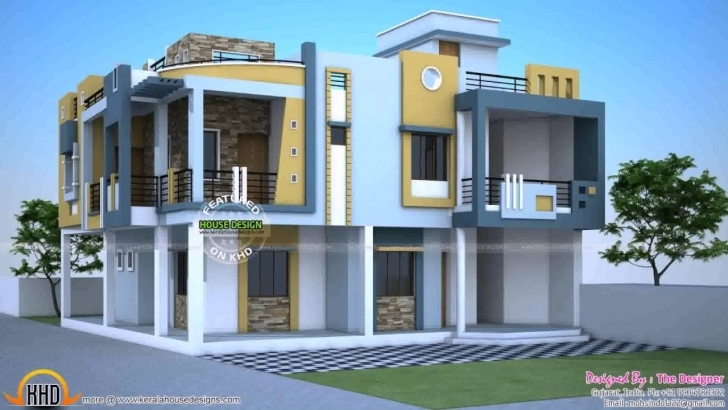 Inspiring Duplex House Plans In India For 900 Sq Ft - Youtube Front Elevation Of Duplex House In 700 Sq Ft Pic