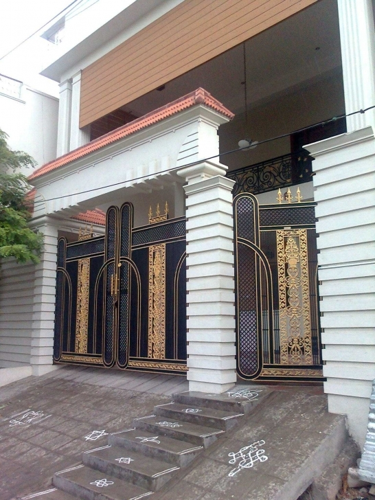 Inspiring Gates Designs Pictures For House Gallery Including Awesome Houses Nigeria House Gate Design Image