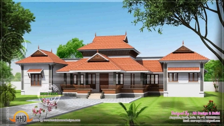 Inspiring Kerala Style Nalukettu House - Youtube Kerala Style Veedukal Photo