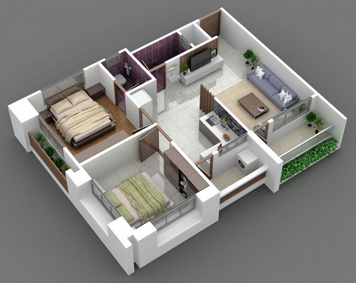 Interesting 2 Bhk House Interior Design Pictures   The Base Wallpaper 1100 Sq Ft House Plans 3d Pic