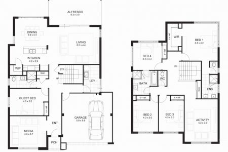 5 Bedroom Double Storey House Plans Uk