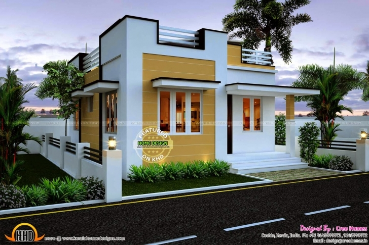 Interesting 545 Sq Ft Beautiful Kerala Home Plan With Budget Of 5 To 7 Lakh Below 5 Lakhs House Plans In Kerala Picture