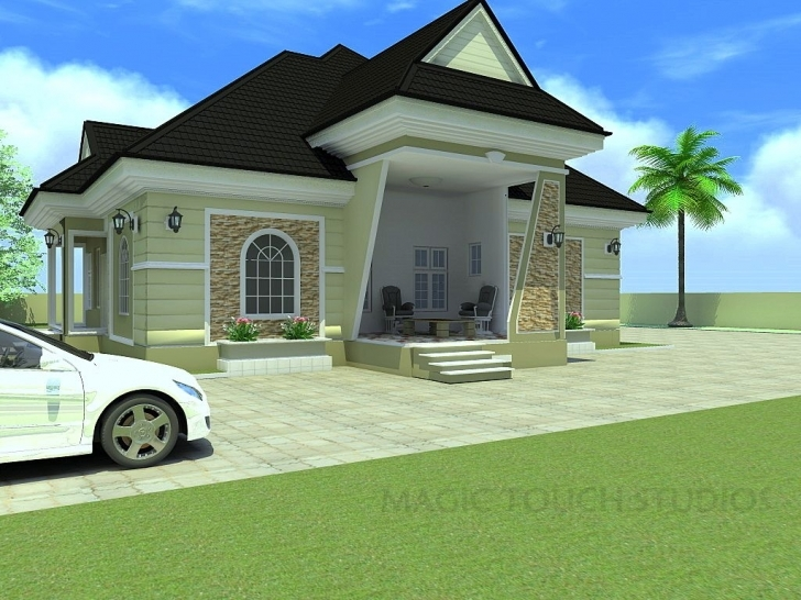 Interesting Bedroom Bungalow Architectural Design Four Elegant Modern Duplex Four Bedroom Flat Design In Nigeria Photo