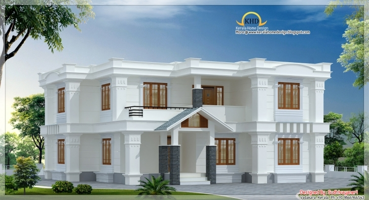 Interesting Bedroom Design Simple: House Architecture - 2520 Sq. Ft. 1200 Sq Ft Duplex House Plans In Kerala With Photos Image