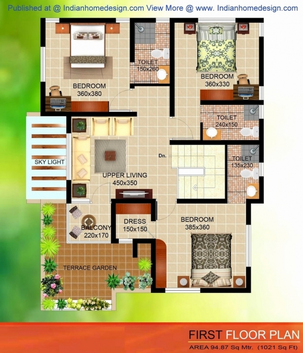 Interesting Duplex House Plans 1200 Sq Ft Luxury 1200 Sq Ft Duplex House Plans House Plans Indian Style In 1200 Sq Ft Single Floor Pic
