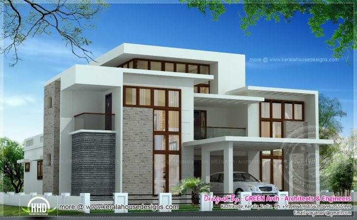 Interesting Exclusive House Elevation Design Home Elevation 1550 Photo