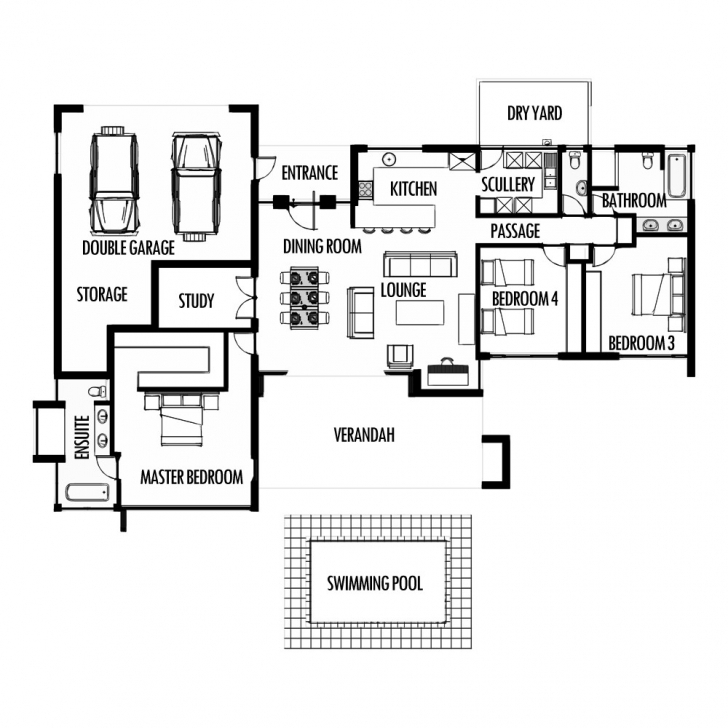 Interesting Free Tuscan House Plans South Africa Luxury Plush 4 Modern 3 Bedroom Free 3 Bedroom House Plans South Africa Picture