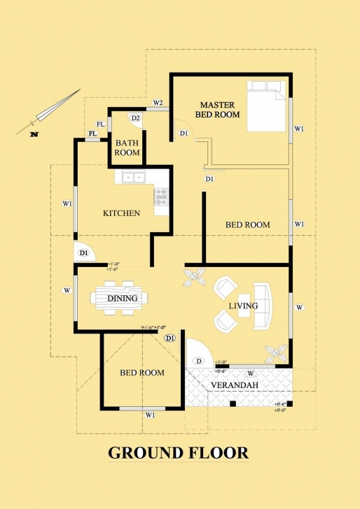Interesting Home Architecture: House Plan Designs In Sri Lanka Plans Small Single Floor House Designs In Sri Lanka Pic