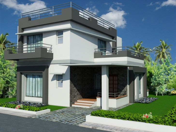 Interesting Home Architecture: Luxury Single Floor Home Plans Colorado Governor 2 Bhk Bungalow Plan With Elevation Picture