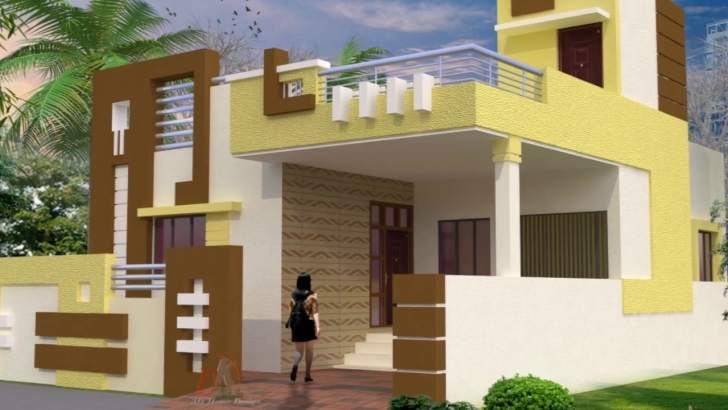 Interesting Home Elevation Design For Ground Floor With Designs Images, Small Elevation Design For House India Ground Floor Picture