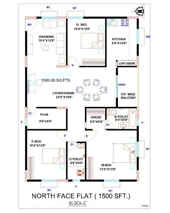 Interesting House Plan Vastu Door Facing & Staggering Vastu For Staircase In Indian Vastu House Plans West Facing Picture