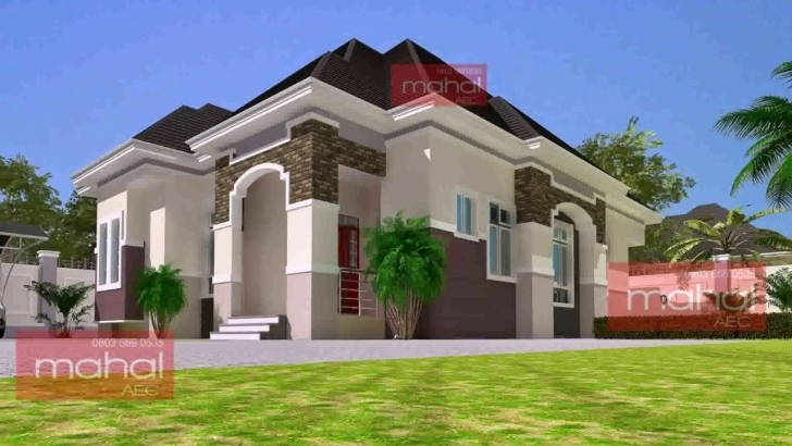 Interesting Latest Bungalow House Design In Nigeria - Youtube Bungalow House Plan In Nigeria Image