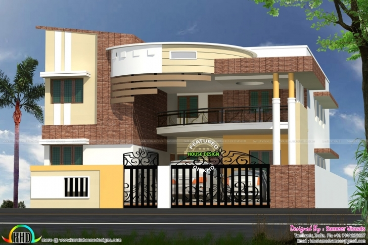 Interesting Modern Contemporary South Indian Home Design - Kerala Home Design South Indian House Designs With Photos Image