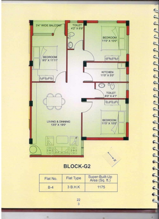 Interesting Overview : Dream Villa At Tollygunge Metro Station, Kolkata - F.m. G 2 Residential Building Plan Picture