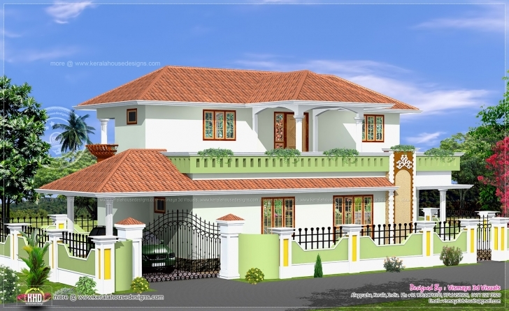 Interesting Simple Bed Room Kerala Style House Home Design Floor - Home Plans Simple House Photo Gallery Photo