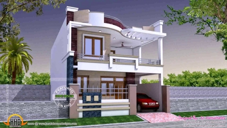 Interesting Simple Indian House Front Design - Youtube Indian Simple House Design Pic