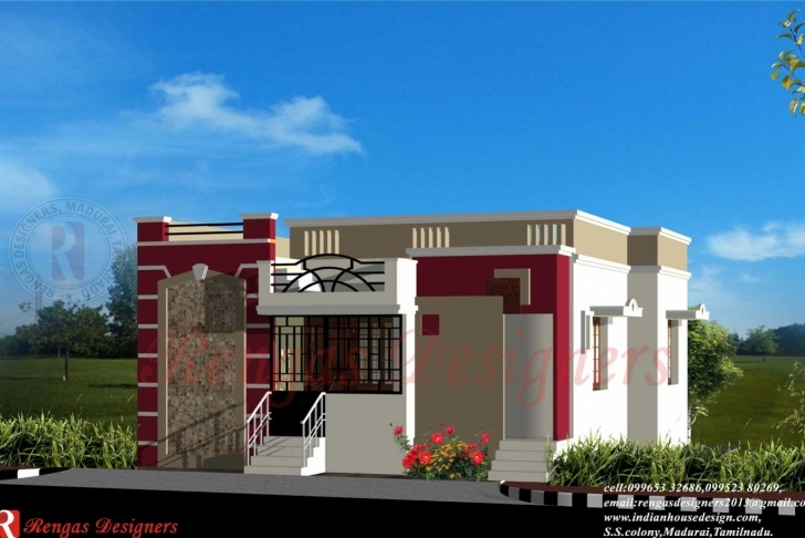 Interesting Single Floor House Front View Designs Design Plans In 2018 And House Front Elevation Designs For Single Floor Pic