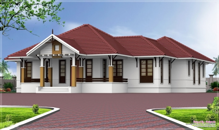 Latest Also Below Architect Above Small Kerala Style House Plans - Home Kerala Style House Single Floor Photo